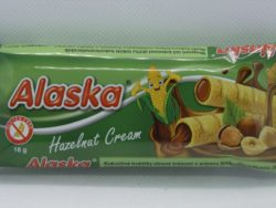 Alaska oriešková kukuričná trubička