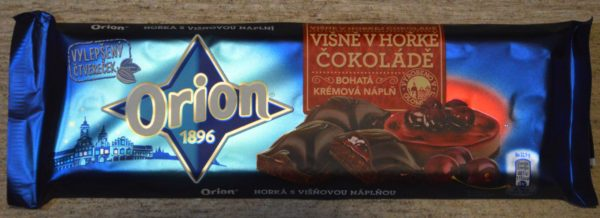Orion višna v horkej čokoláde