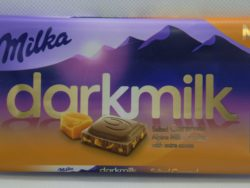 Milka darkmilk karamel