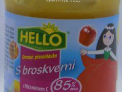 Hello s broskynou a vitamínom C