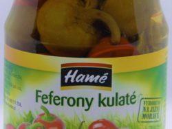 Feferony guľaté Hamé