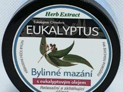 Bylinná masť eukalyptus