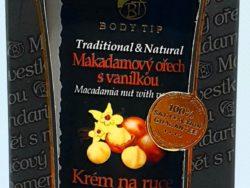 Krém na ruky makadámový olej+vanilka