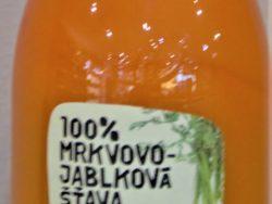 Mrkvovo-jablková šťava 100%