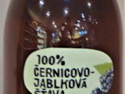 Černicovo-jablková šťava 100%