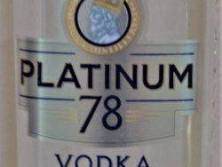 Vodka Platinum 78