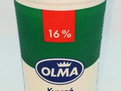 Kyslá smotana 16% OLMA