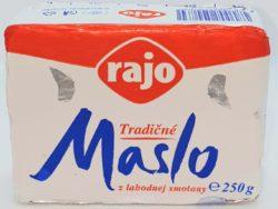Tradičné maslo 250g Rajo
