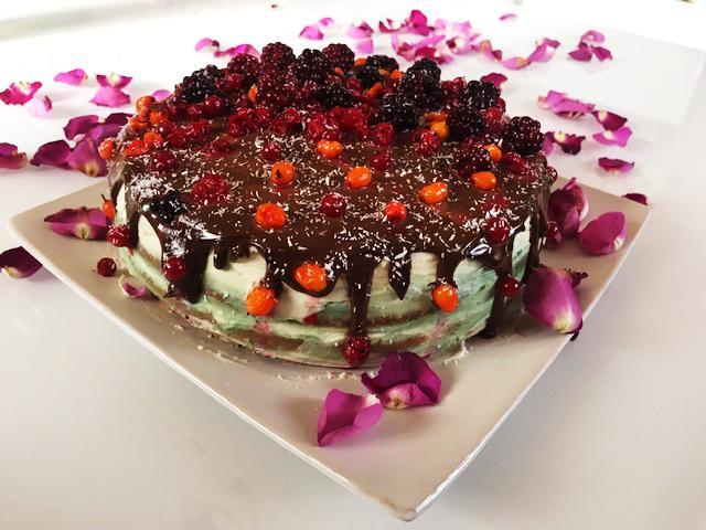 Domáca ovocná torta