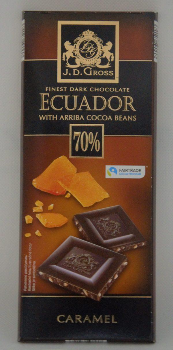 Ecuador čokoláda