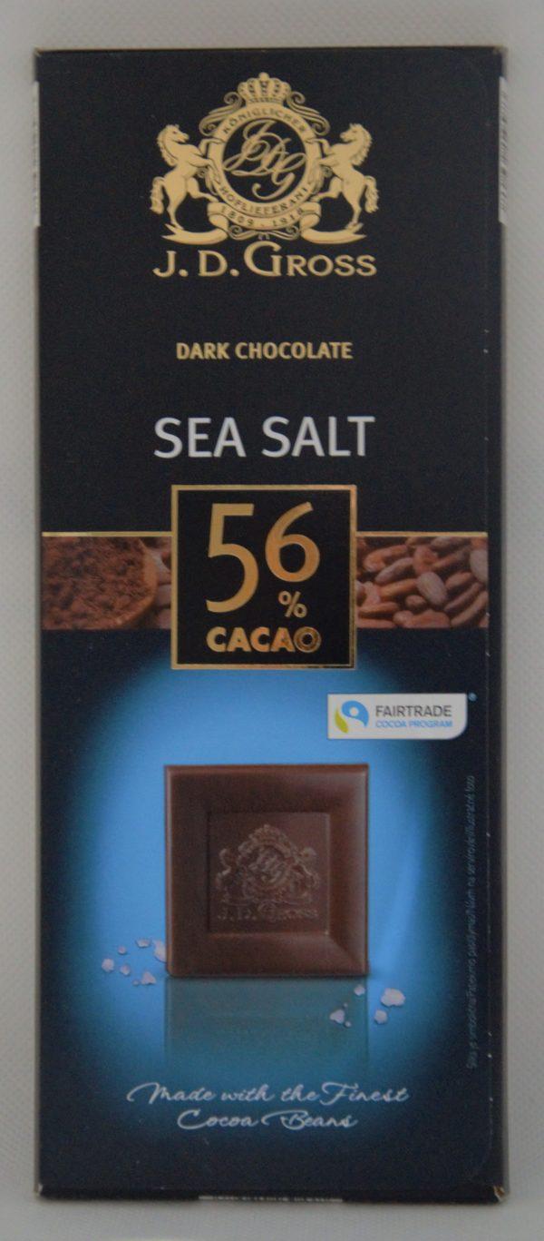 Čokoláda morská soľ
