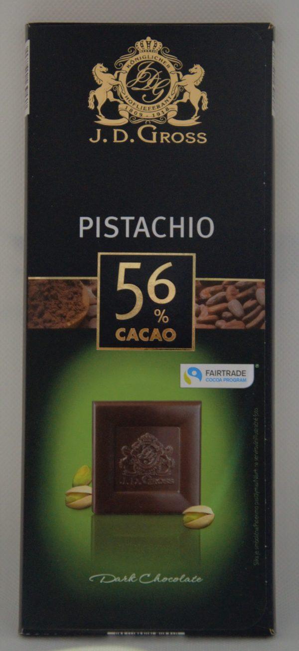 Čokoláda pistácie