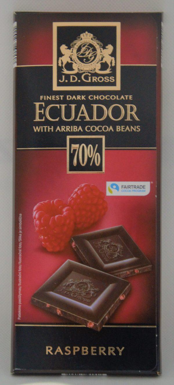 Čokoláda malina