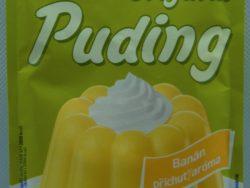 Puding banánový