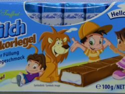 Detská čokoláda mliečna
