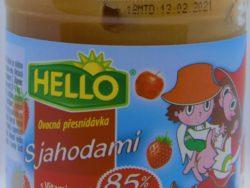 Hello jahoda s vitamínom C
