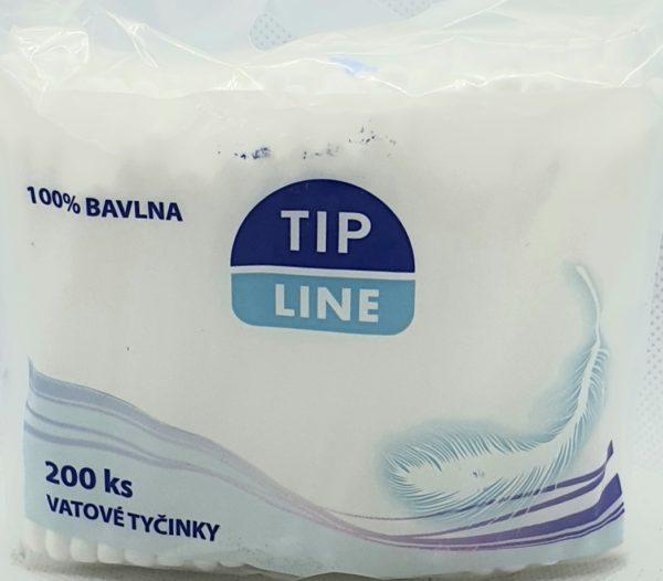 Vatové tyčinky Tip Line 200ks