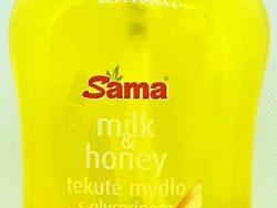 Mydlo tekuté milk&honey