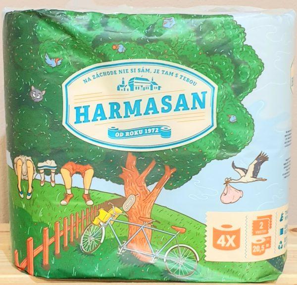 Toaletný papier Harmasan 2- vrstvové
