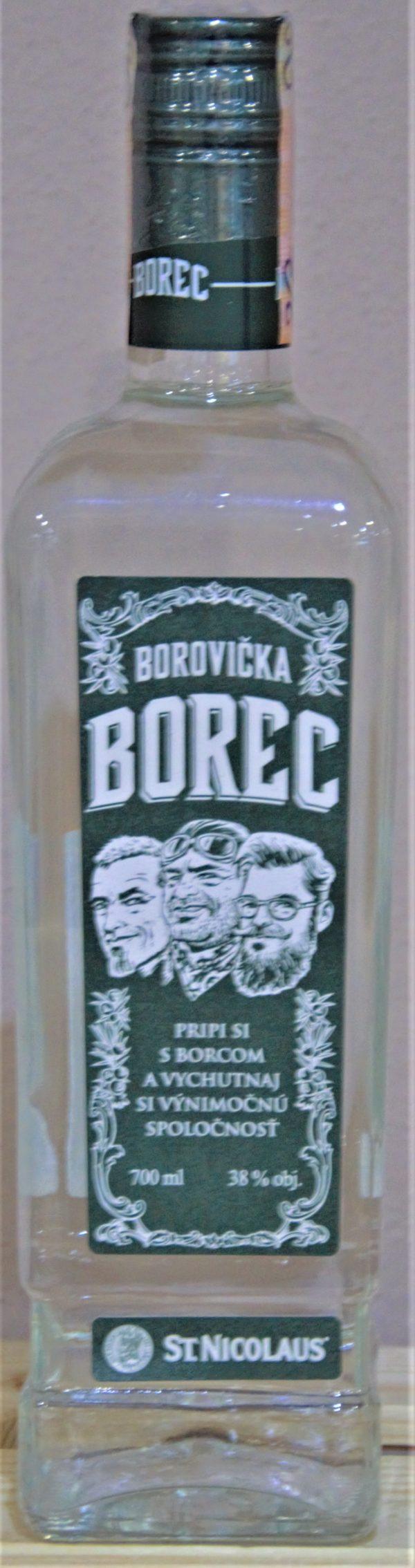 Borovička Borec 38%