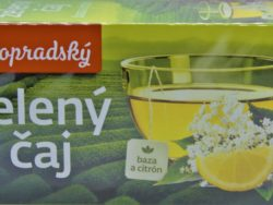 Zelený čaj baza citrón