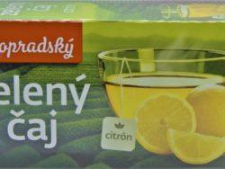 Zelený čaj citrón