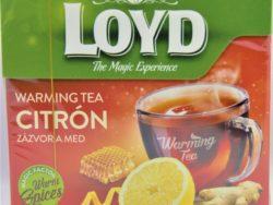 Čaj zázvor med a citrón