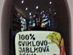 Cviklovo-jablková šťava 100%