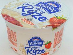 Rýža mliečna jahoda 150g Kunín
